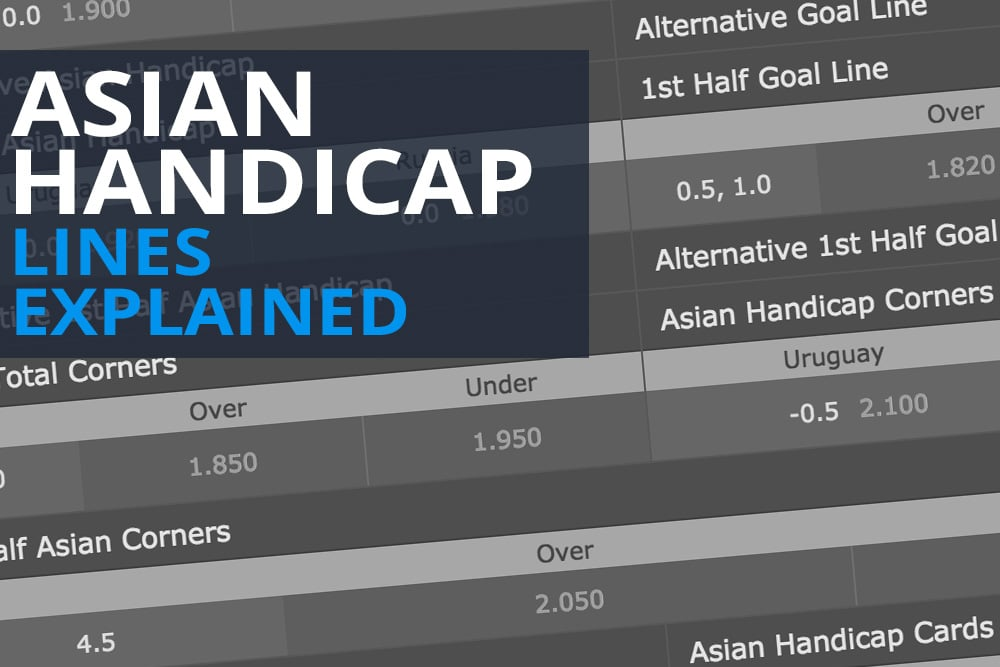 Asian handicap lines